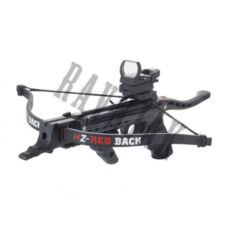Hori-Zone Pistol Crossbow RedBack Tactical Deluxe Package 80 Black
