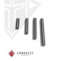 CONQUEST SCREW SET THREADED STAINLESS STEEL 5-16/24