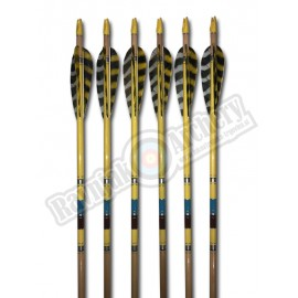ELITE ARROWS LESENE PUŠČICE 12pk. Yellow