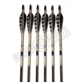 ELITE ARROWS LESENE PUŠČICE 12pk. Brown
